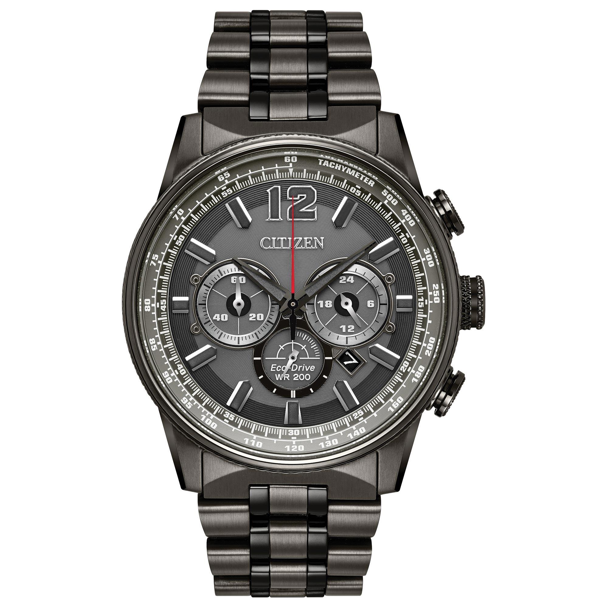 Ca4377 53h citizen nighthawk eco drive mens watch tq for Citizen eco dive