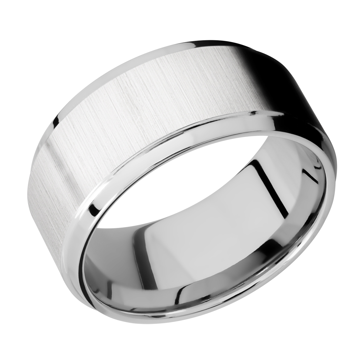 Lashbrook CC10B(S) Cobalt Chrome Wedding Ring or Band