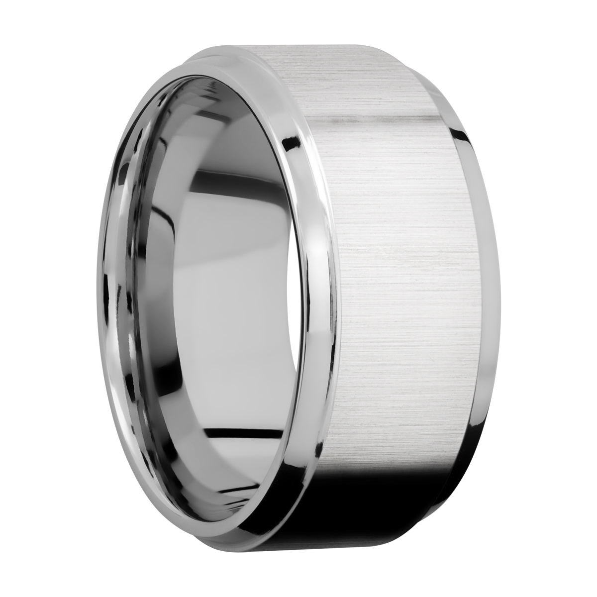 Lashbrook CC10B(S) Cobalt Chrome Wedding Ring or Band Alternative View 1