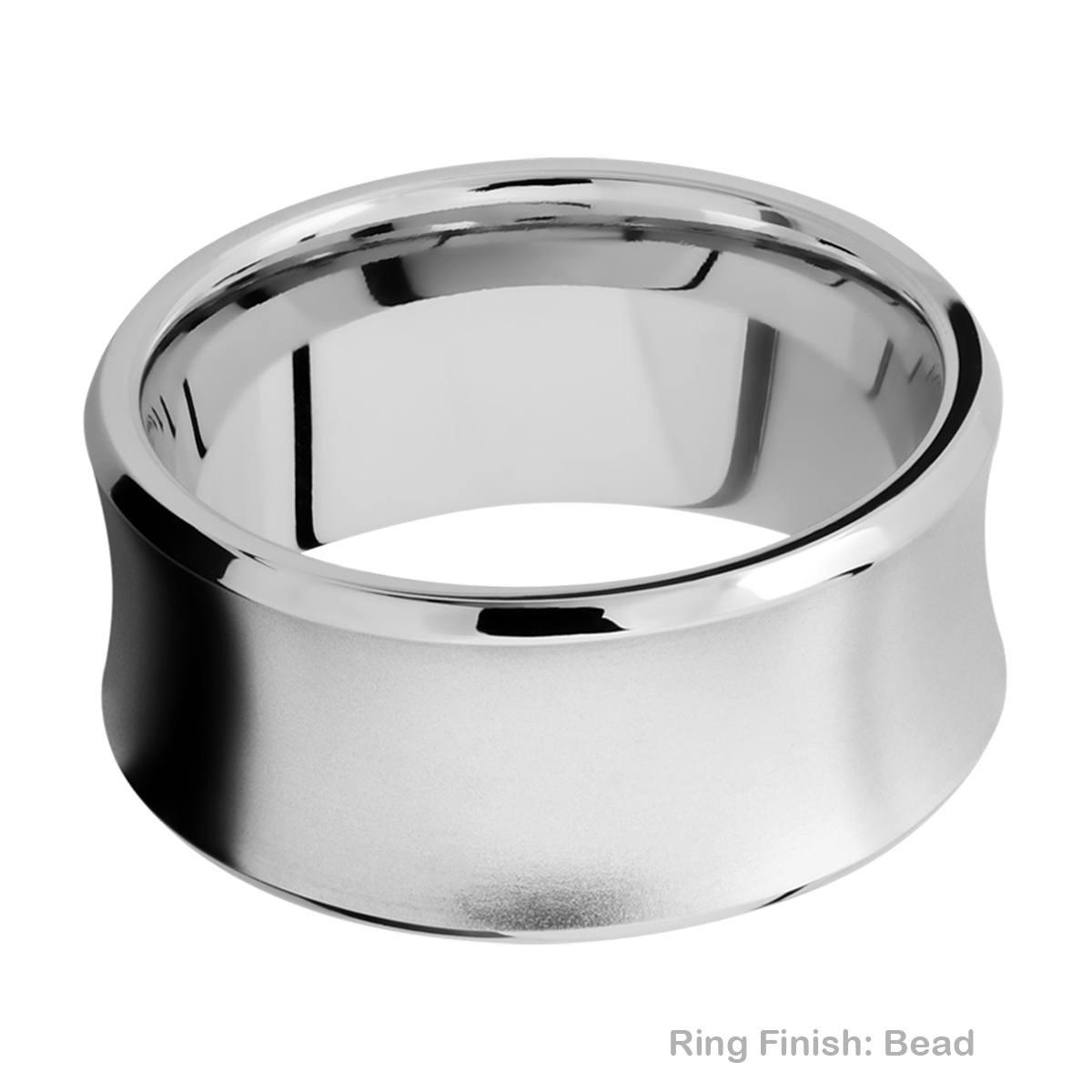Lashbrook CC10CB Cobalt Chrome Wedding Ring or Band Alternative View 3