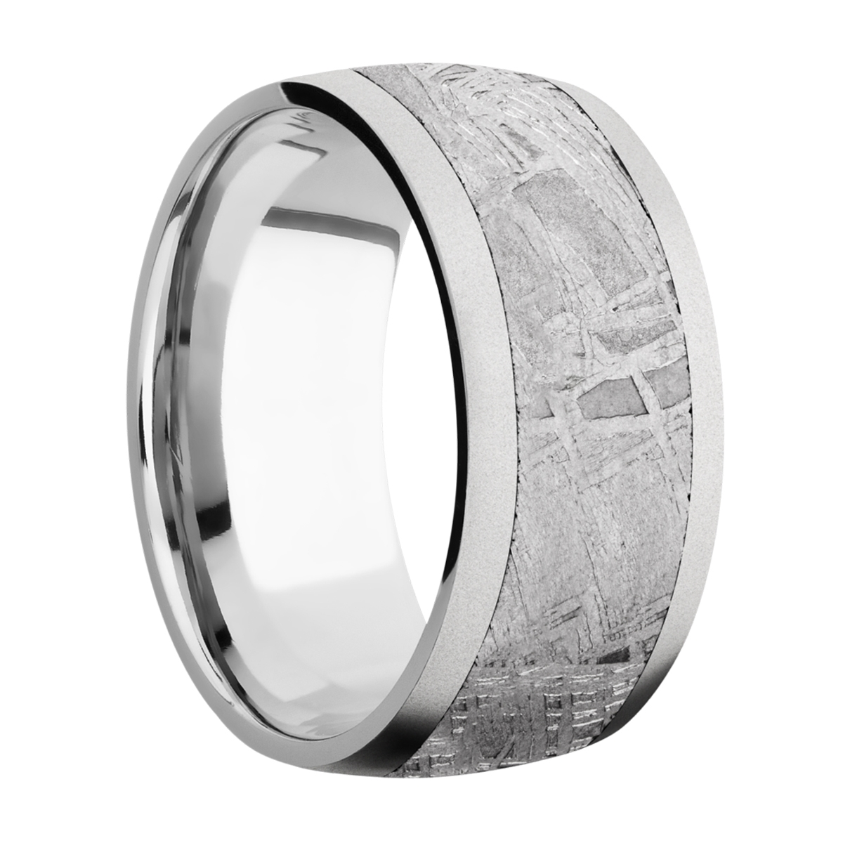 Lashbrook CC10D17/METEORITE Cobalt Chrome Wedding Ring or Band Alternative View 1