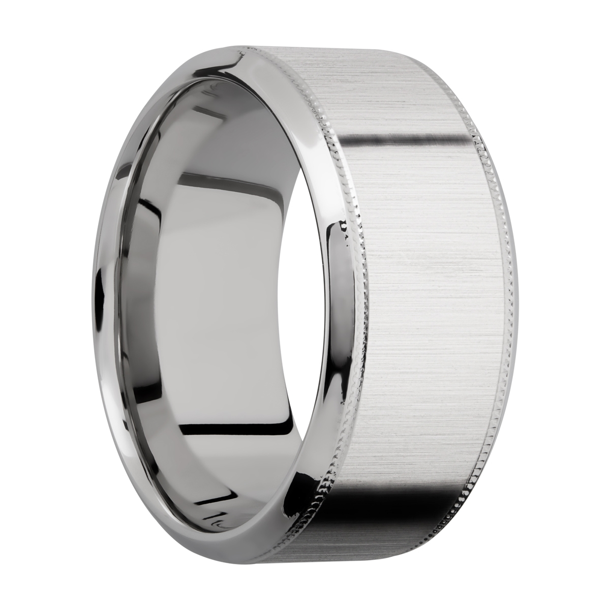 Lashbrook CC10HB2UMIL Cobalt Chrome Wedding Ring or Band Alternative View 1