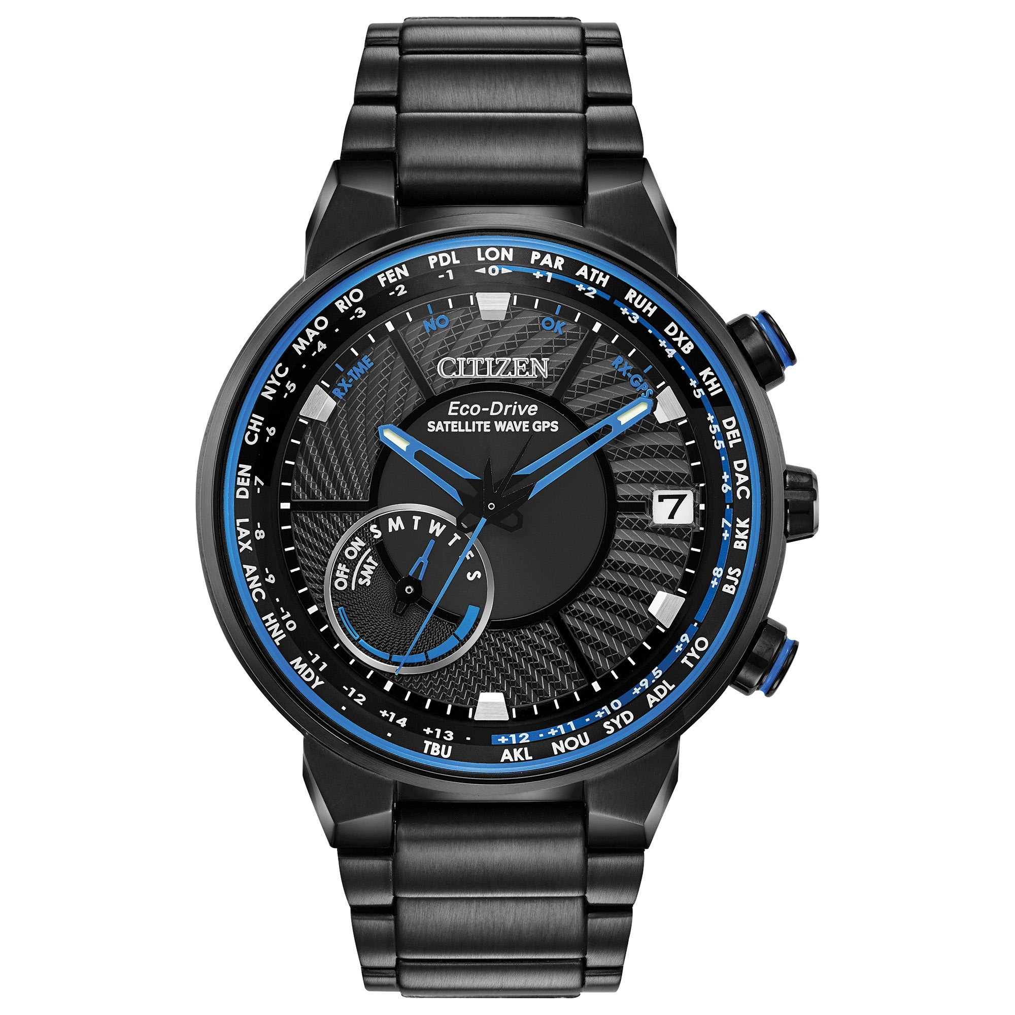 CC3038-51E Citizen Satellite Wave - World Time GPS Mens Watch