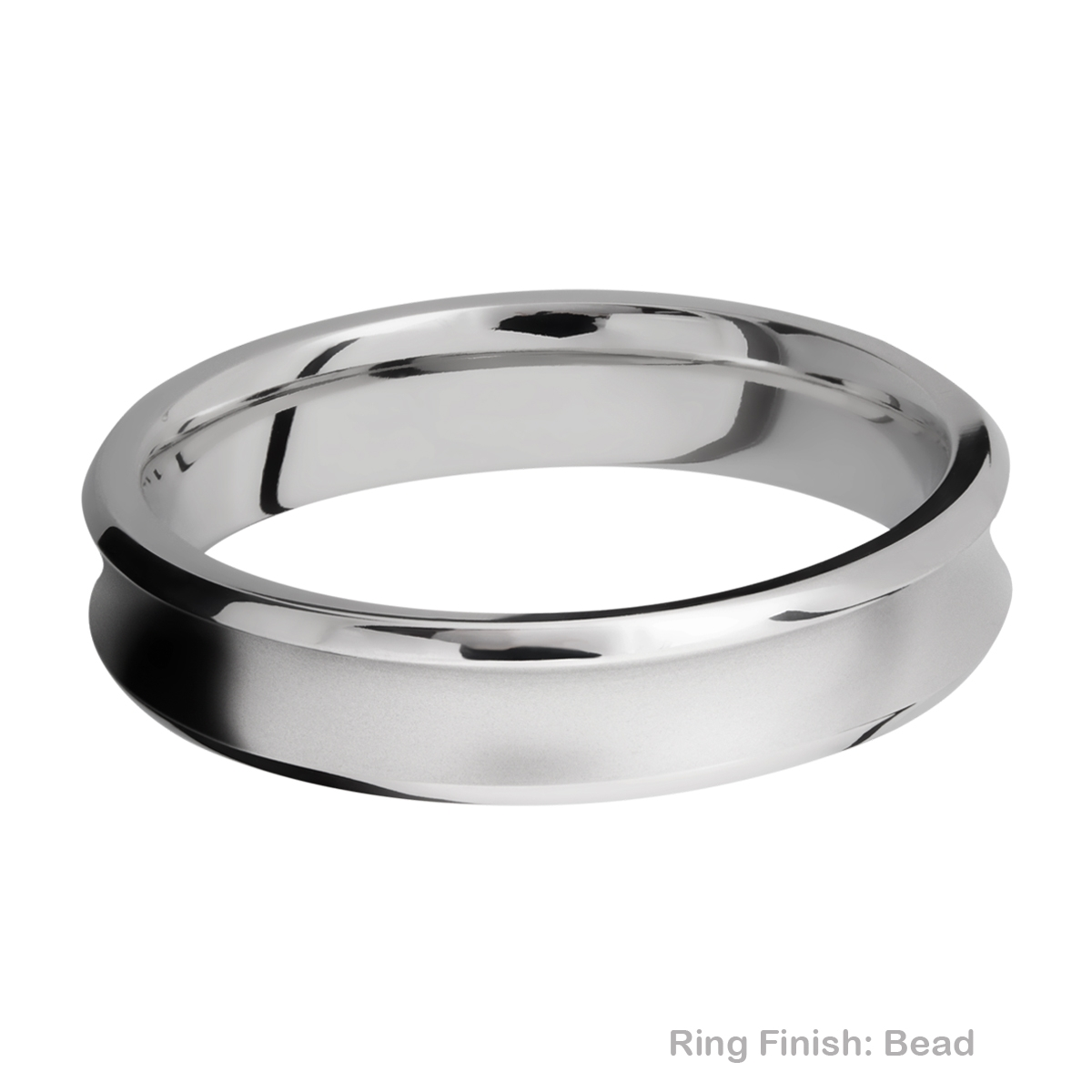 Lashbrook CC5CB Cobalt Chrome Wedding Ring or Band Alternative View 3