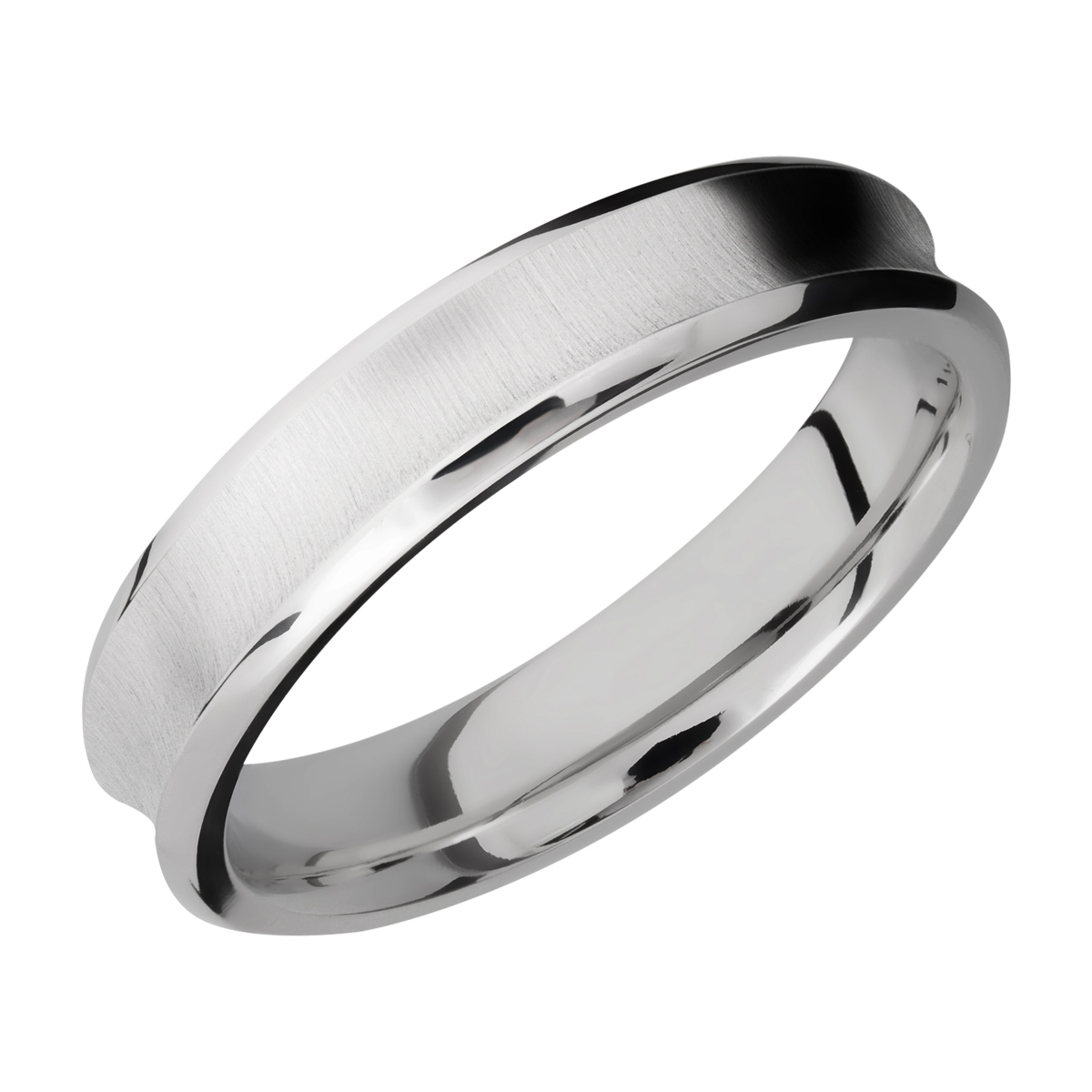 Lashbrook CC5CB Cobalt Chrome Wedding Ring or Band