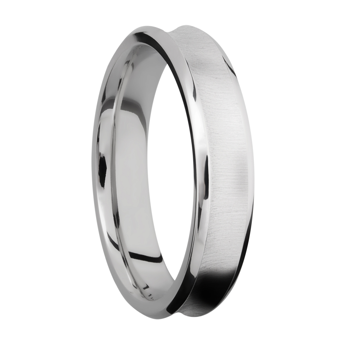 Lashbrook CC5CB Cobalt Chrome Wedding Ring or Band Alternative View 1