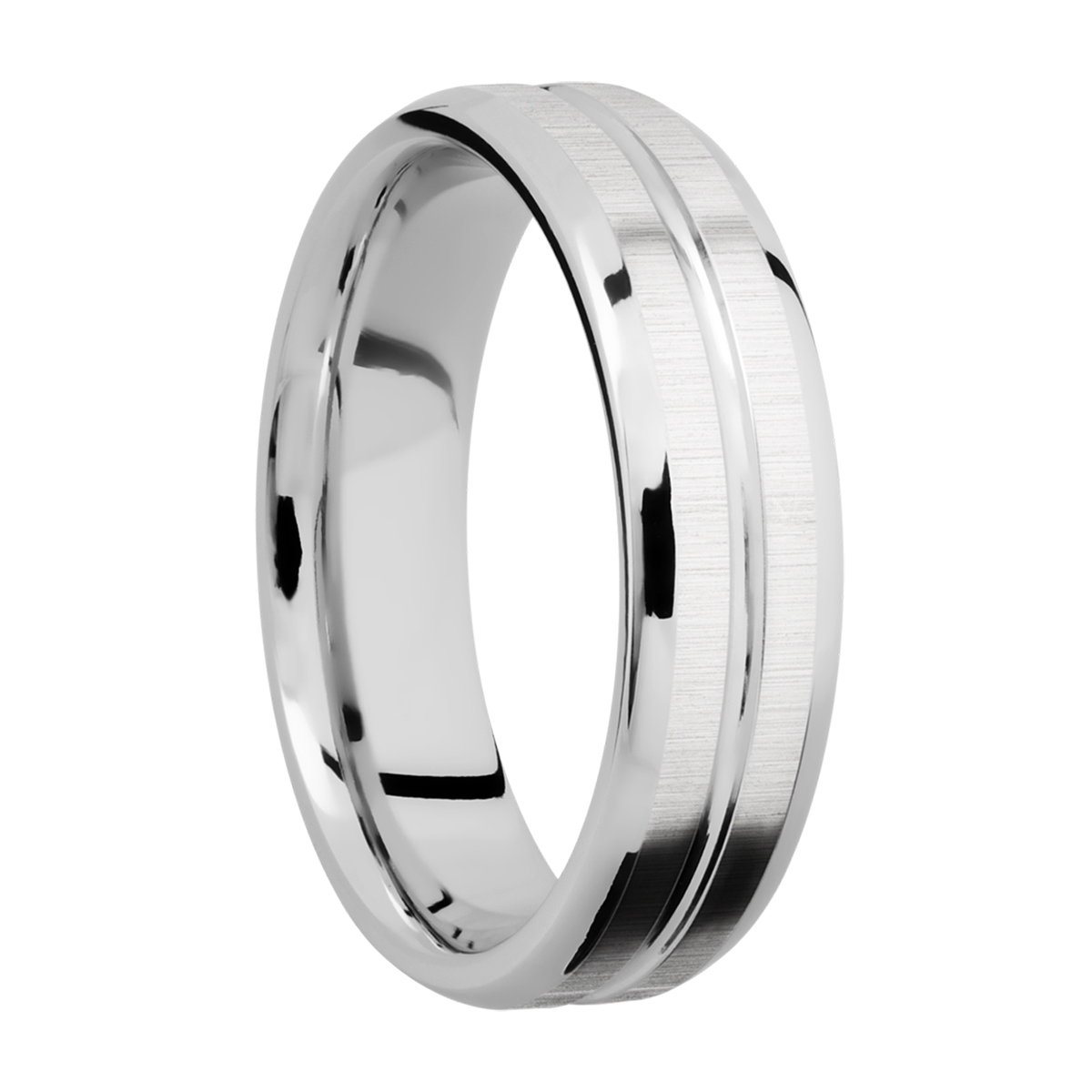 Lashbrook CC6B11U Cobalt Chrome Wedding Ring or Band Alternative View 1