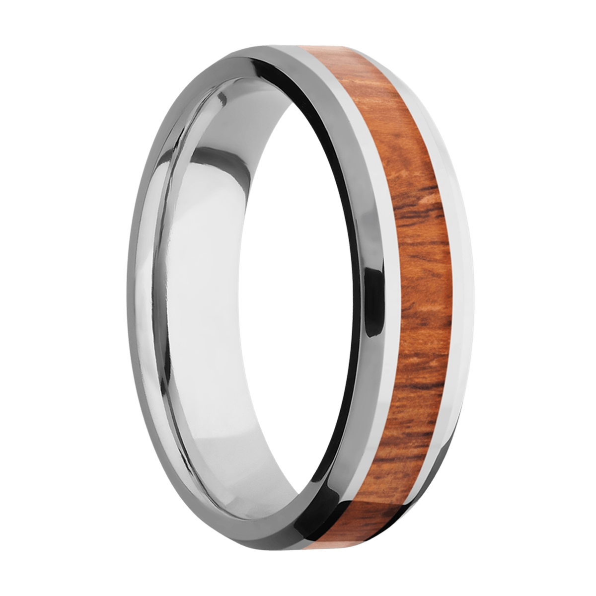 Lashbrook CC6B13(NS)/HARDWOOD Cobalt Chrome Wedding Ring or Band Alternative View 1