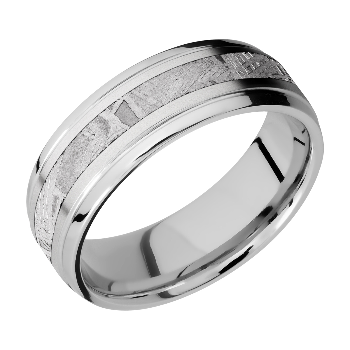 Lashbrook Cc7b13 Ns Meteorite Cobalt Chrome Wedding Ring Or Band