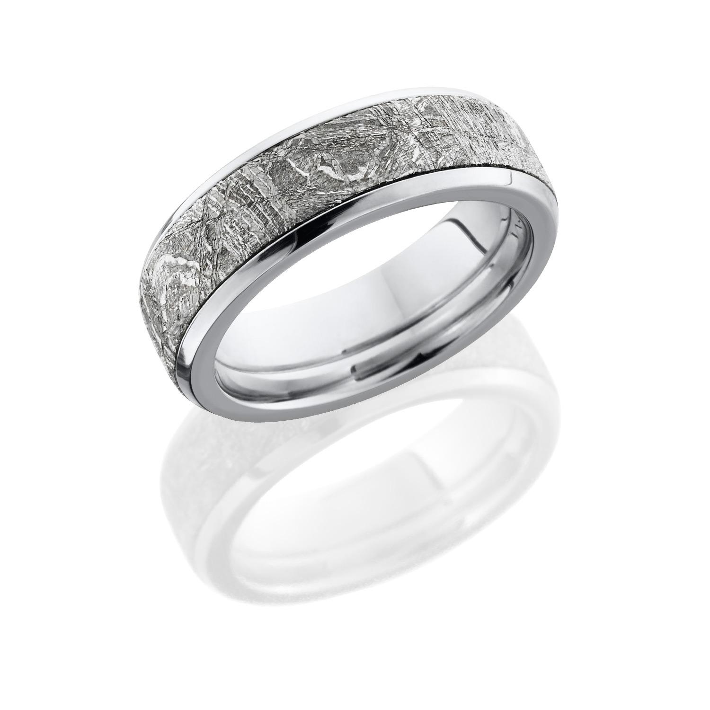 lashbrook cc7b15 meteorite polish meteorite wedding ring