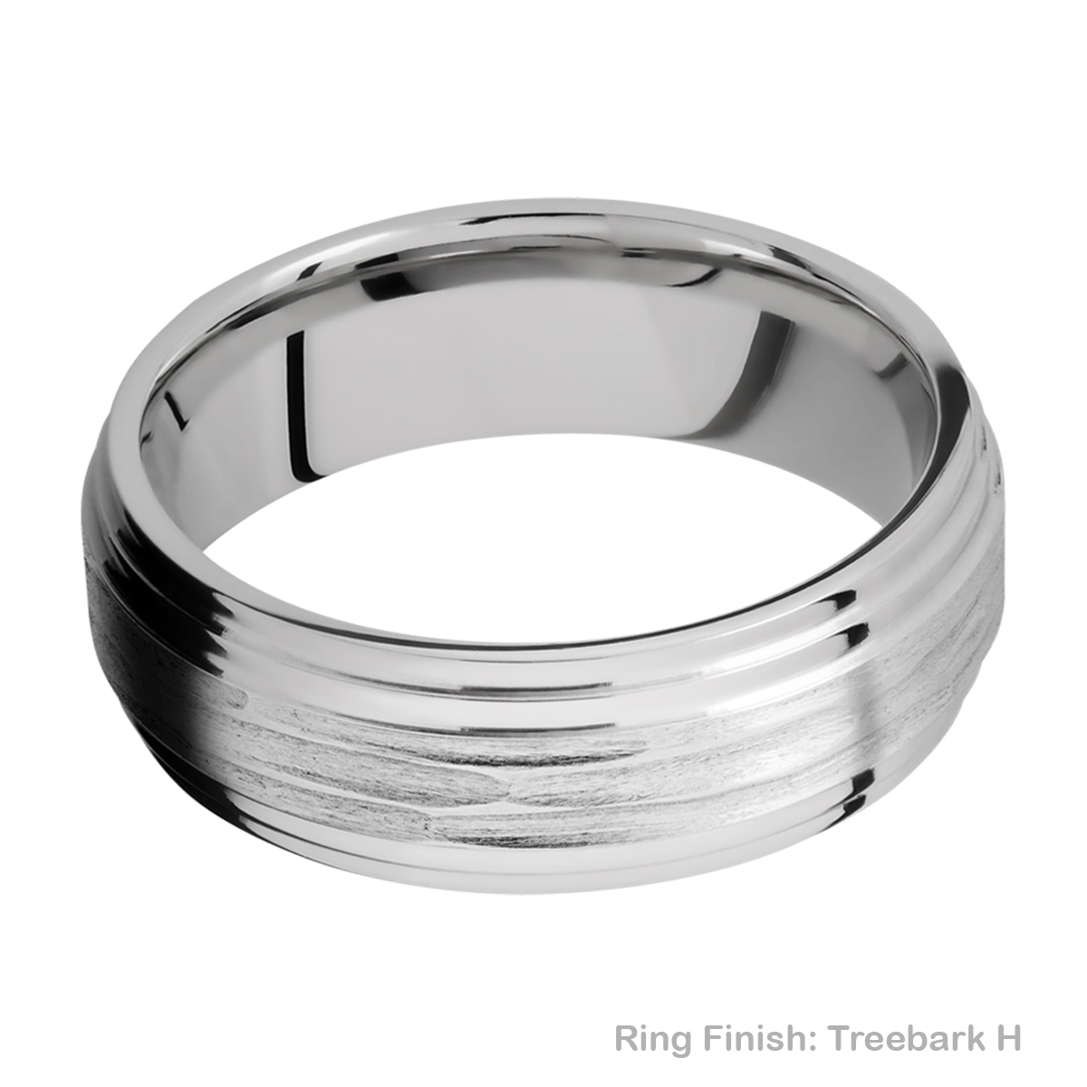 Lashbrook CC7F2S Cobalt Chrome Wedding Ring or Band Alternative View 11