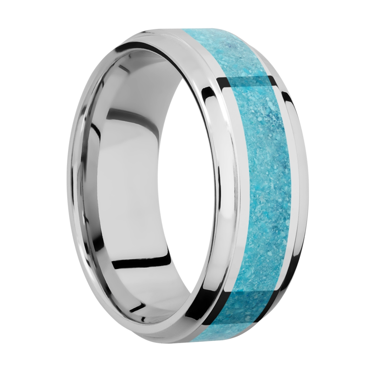 Lashbrook CC8B14(S)/MOSAIC Cobalt Chrome Wedding Ring or Band Alternative View 1