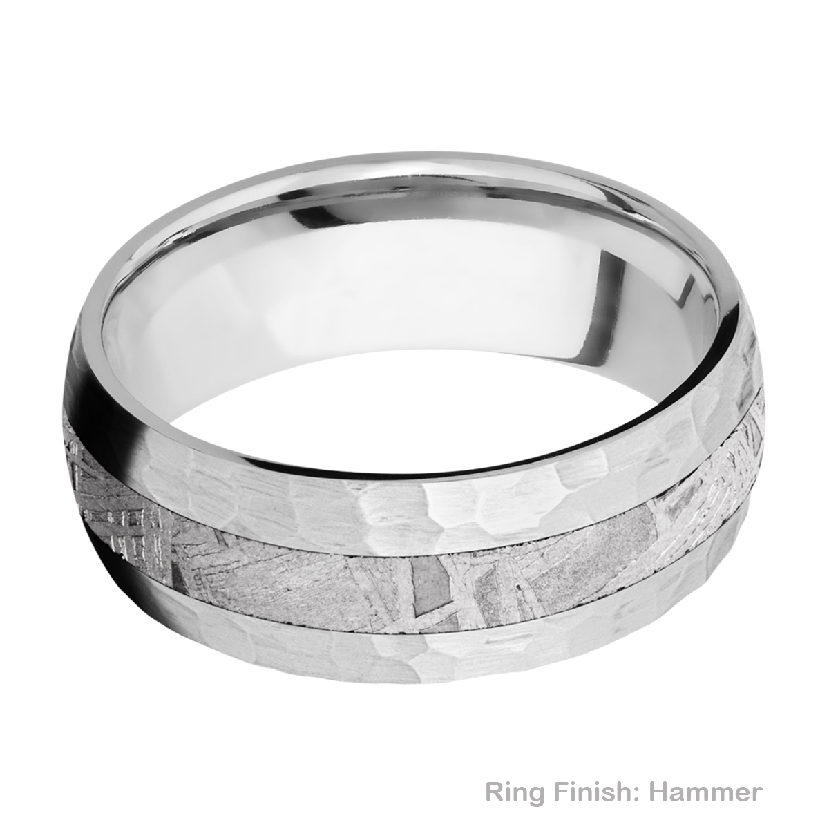 Lashbrook CC8D13/METEORITE Cobalt Chrome Wedding Ring or Band Alternative View 8