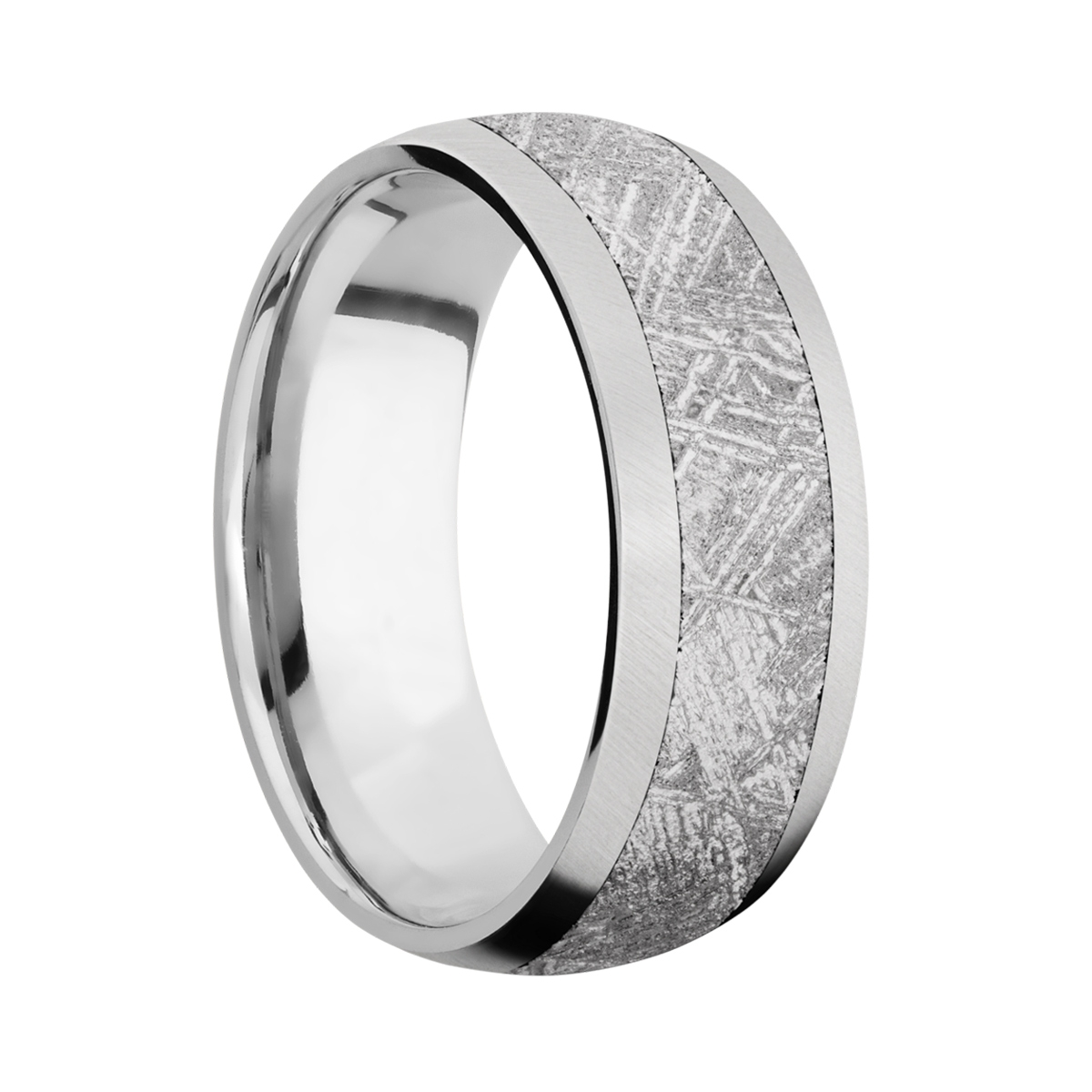 Lashbrook CC8D15/Meteorite Cobalt Chrome Wedding Ring or Band Alternative View 1