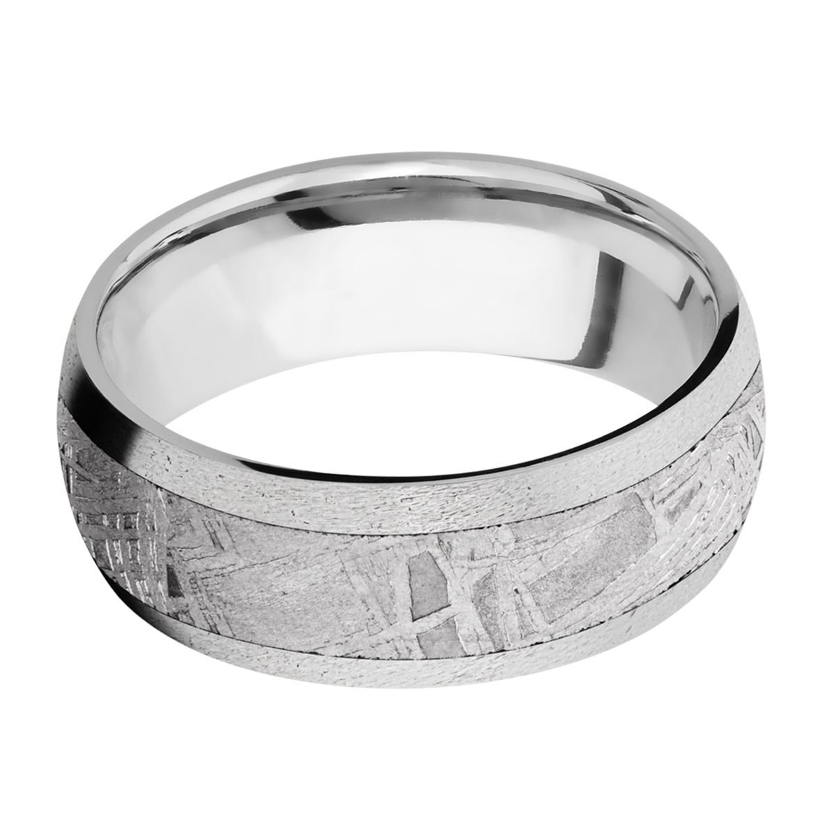 Lashbrook CC8D15/Meteorite Cobalt Chrome Wedding Ring or Band Alternative View 7