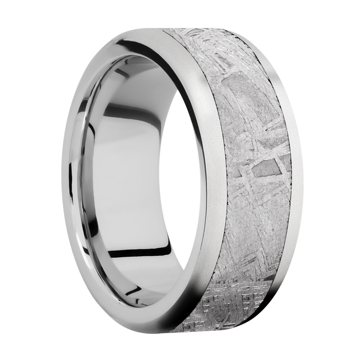 Lashbrook CC9F16/METEORITE Cobalt Chrome Wedding Ring or Band Alternative View 1