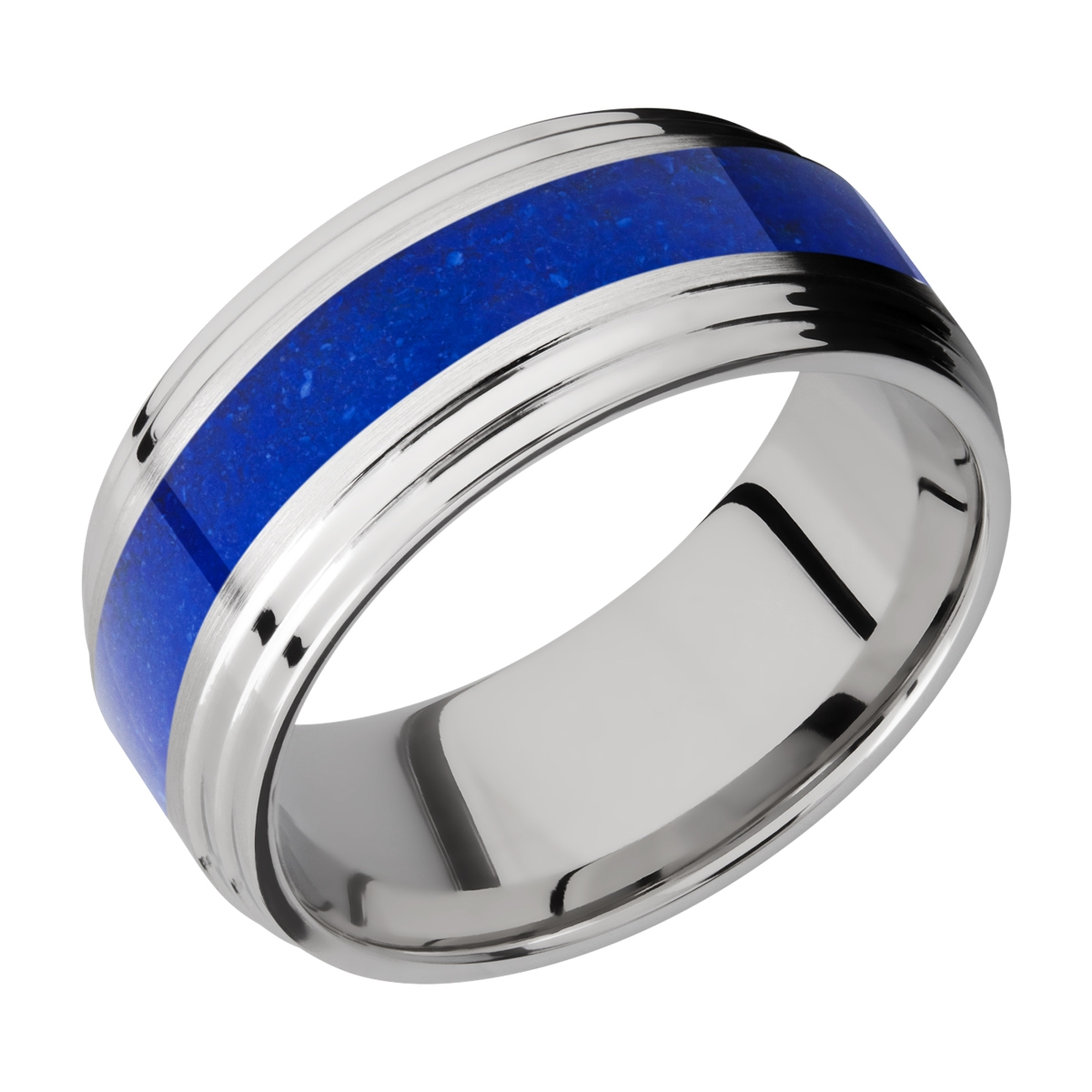 Lashbrook CC9F2S14/MOSAIC Cobalt Chrome Wedding Ring or Band