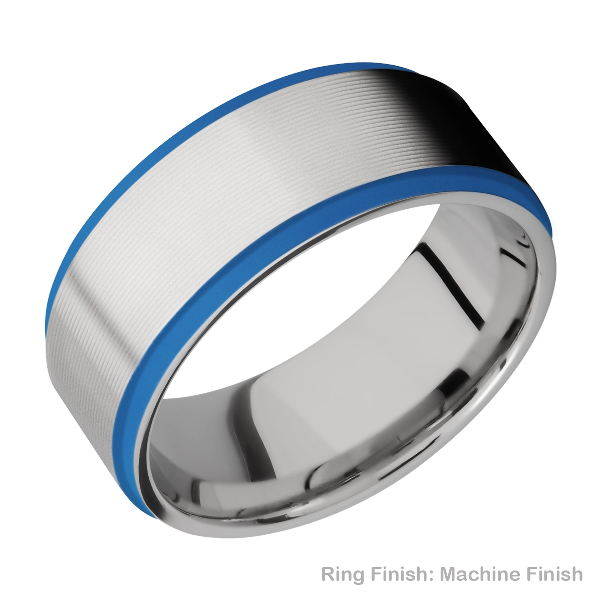 Lashbrook CC10FGE21EDGE/A/CERAKOTE Cobalt Chrome Wedding Ring or Band Alternative View 14