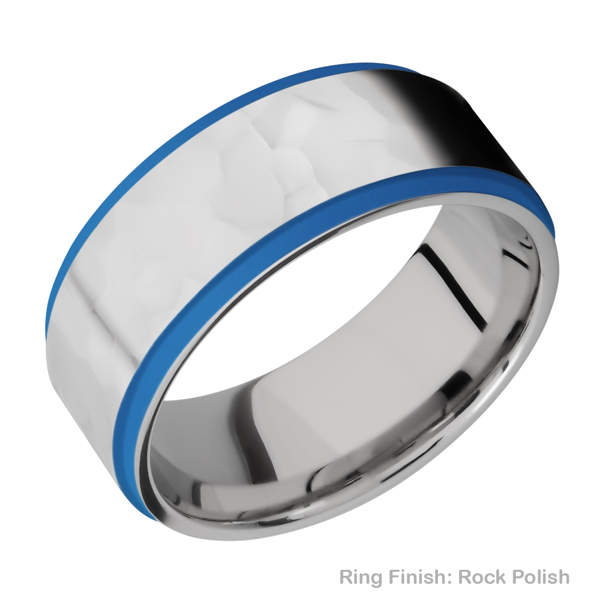 Lashbrook CC10FGE21EDGE/A/CERAKOTE Cobalt Chrome Wedding Ring or Band Alternative View 16