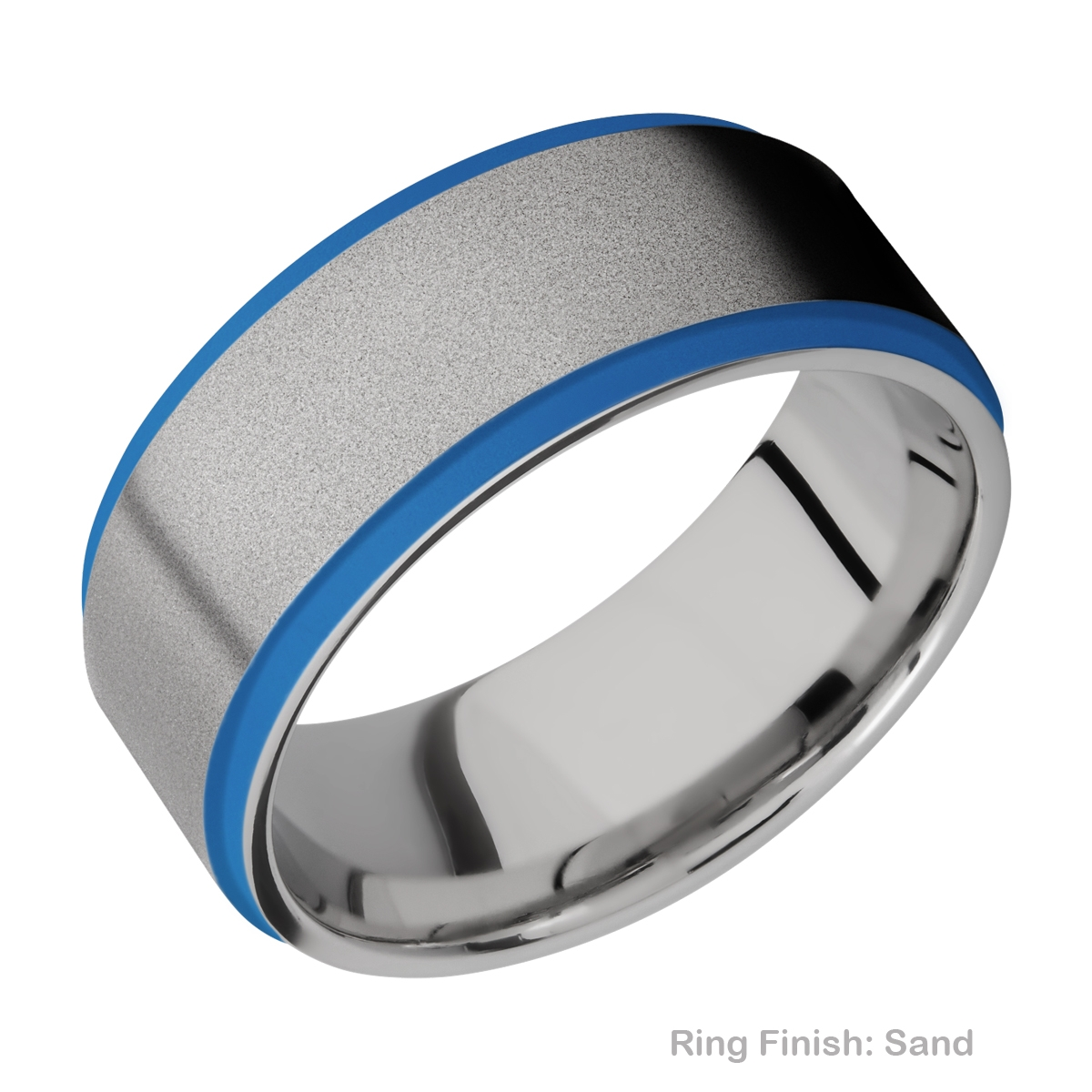 Lashbrook CC10FGE21EDGE/A/CERAKOTE Cobalt Chrome Wedding Ring or Band Alternative View 5