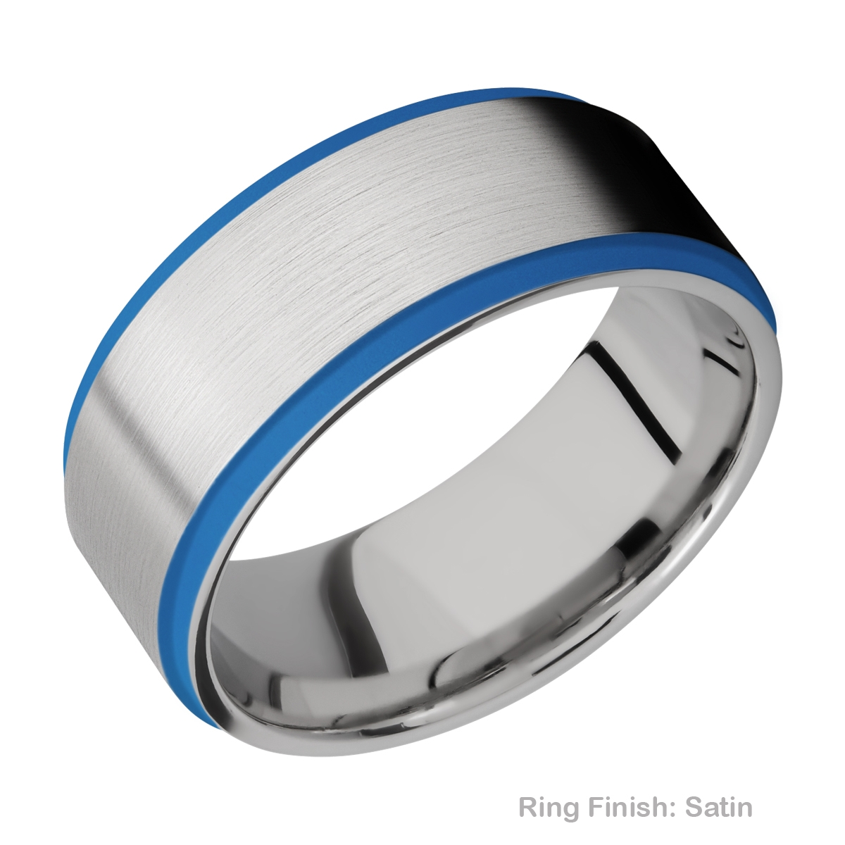 Lashbrook CC10FGE21EDGE/A/CERAKOTE Cobalt Chrome Wedding Ring or Band Alternative View 6