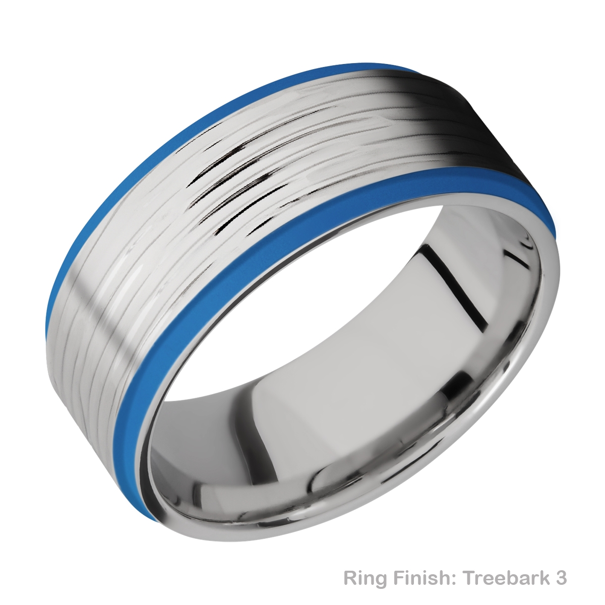 Lashbrook CC10FGE21EDGE/A/CERAKOTE Cobalt Chrome Wedding Ring or Band Alternative View 12