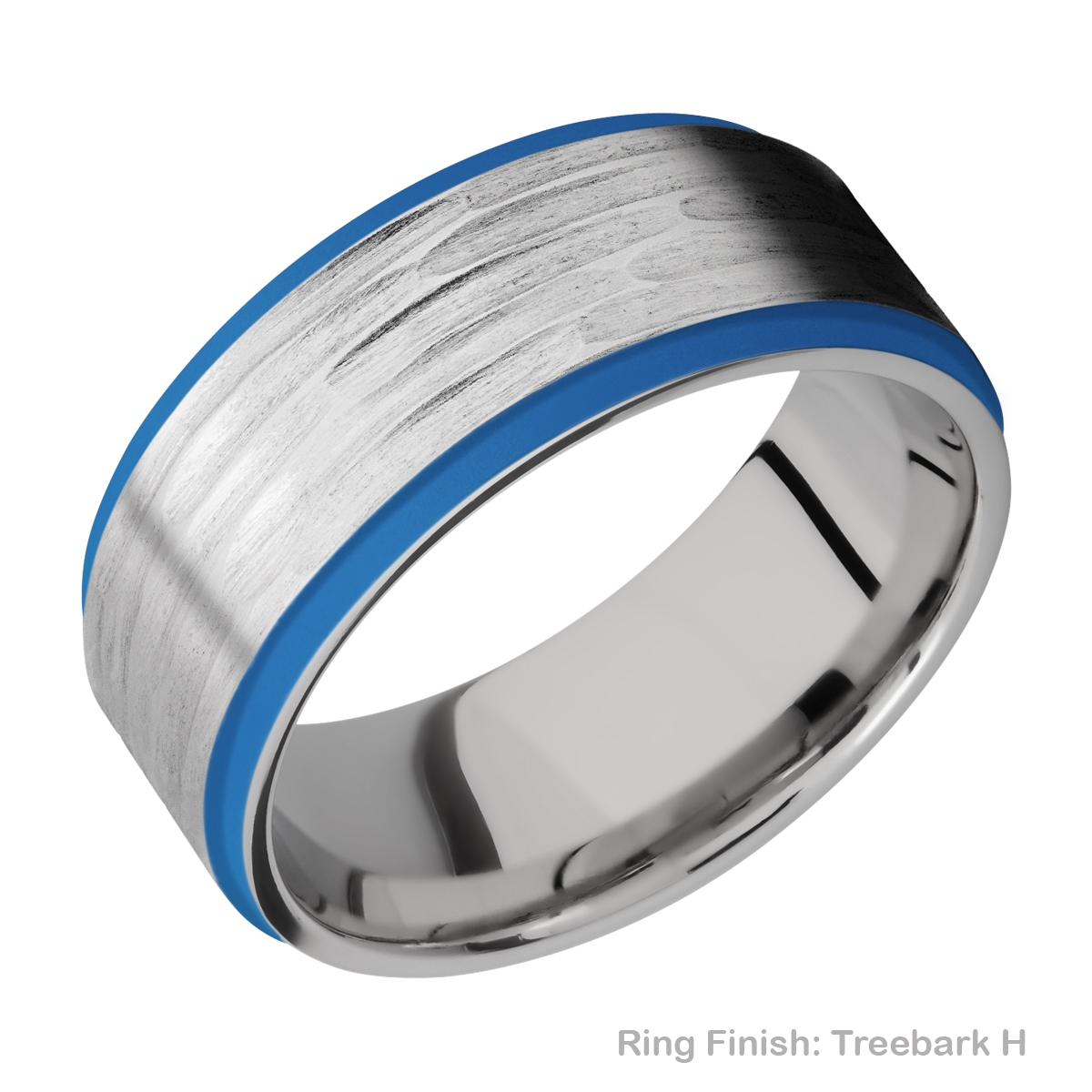 Lashbrook CC10FGE21EDGE/A/CERAKOTE Cobalt Chrome Wedding Ring or Band Alternative View 10
