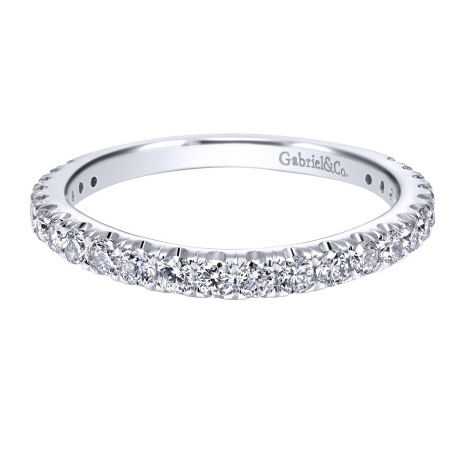 Gabriel 14 Karat Contemporary Wedding Band WB11999R6W83JJ