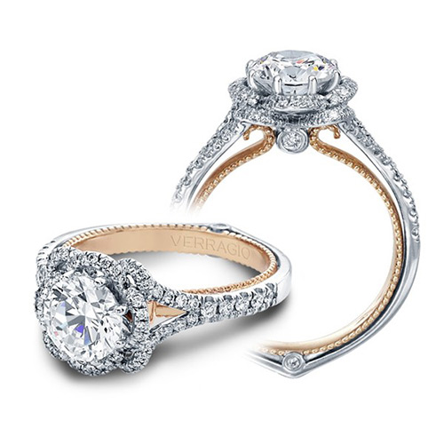 Verragio Couture-0426R-TT 14 Karat Engagement Ring Alternative View 2