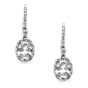 Tacori Diamond Earrings Platinum Fine Jewelry FE642OV86