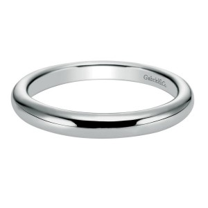 Gabriel 14 Karat Contemporary Wedding Band WB6605W4JJJ