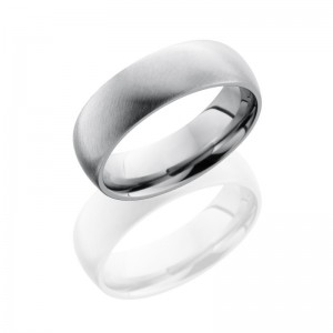 Lashbrook 7D SATIN Titanium Wedding Ring or Band