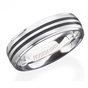 Verragio Platinum In-Gauge Wedding Band RU-6065