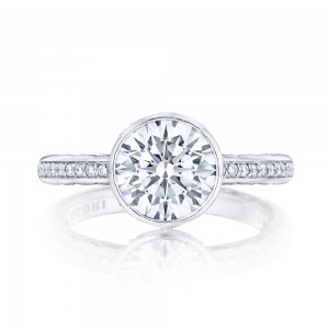 305-25RD8 Platinum Tacori Starlit Engagement Ring
