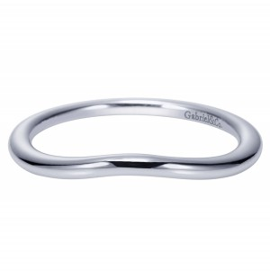 Gabriel Platinum Contemporary Wedding Band WB9004PTJJJ