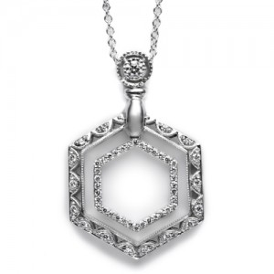 Tacori Diamond Necklace Platinum Fine Jewelry FP583