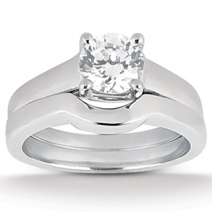 Taryn Collection Platinum Diamond Engagement Ring TQD A-6041
