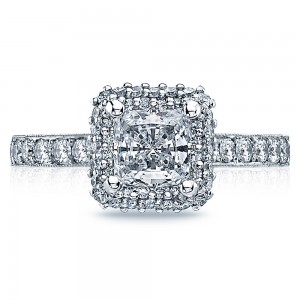 Tacori 38-25PR55 18 Karat Blooming Beauties Engagement Ring