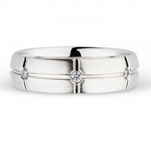 244739 Christian Bauer Platinum Diamond  Wedding Ring / Band