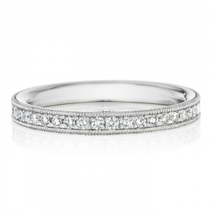 246957 Christian Bauer Platinum Diamond  Wedding Ring / Band