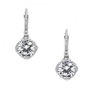 Tacori Diamond Earrings 18 Karat Fine Jewelry FE64245