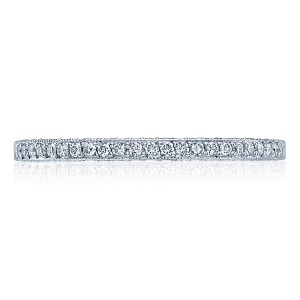 Tacori Platinum Simply Tacori Wedding Band 2561B-1