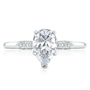 Tacori 2651PS85X55 18 Karat Simply Tacori Engagement Ring