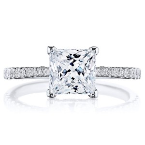 Tacori 2671PR65 Platinum Simply Tacori Engagement Ring