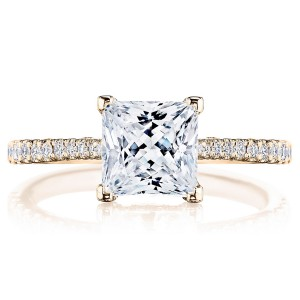 Tacori 2671PR65PK 18 Karat Simply Tacori Engagement Ring
