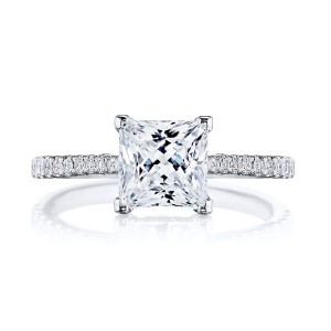 Tacori 2671PR65W 18 Karat Simply Tacori Engagement Ring