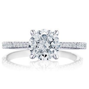 Tacori 2671RD75 Platinum Simply Tacori Engagement Ring