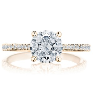 Tacori 2671RD75PK 18 Karat Simply Tacori Engagement Ring
