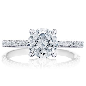 Tacori 2671RD75W 18 Karat Simply Tacori Engagement Ring