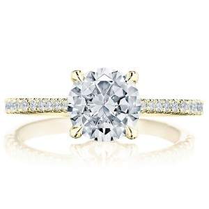 Tacori 2671RD75Y 18 Karat Simply Tacori Engagement Ring